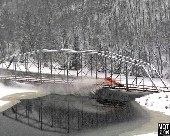 Steel Bridge on Marquette County Road 510, Michigan