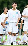 UNC's Michael Callahan on Sunday September 3rd, 2006 at Fetzer Field on the campus of the University of North Carolina Chapel Hill in Chapel Hill, North Carolina. The North Carolina Tarheels defeated the Penn State Nittany Lions 1-0 in an NCAA Division I Men's Soccer game.