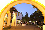 Jardim do Paco Restaurant in the old Palace Duques de Cadava (Dukes of Cadava), Evora, Alto Alentejo, Portugal