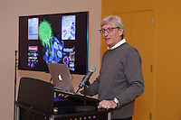BioBus Science Happy Hour & Holiday Party with speaker Dr. Dan Littman explaining the latest discoveries in the field of immunology. Dr. Littman is the Helen L. and Martin S. Kimmel Professor of Molecular Immunology at NYU's Skirball Institute of Biomolecular Medicine.
