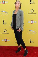 SANTA MONICA, CA, USA - NOVEMBER 16: Elizabeth Berkley arrives at the P.S. ARTS Express Yourself 2014 held at The Barker Hanger on November 16, 2014 in Santa Monica, California, United States. (Photo by Celebrity Monitor)