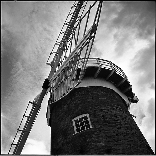 Horsey Windpump III, Norfolk 2013 by Paul Cooklin