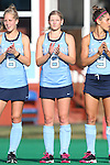 09 October 2015: North Carolina's Catherine Hayden. The University of North Carolina Tar Heels hosted the Longwood University Lancers at Francis E. Henry Stadium in Chapel Hill, North Carolina in a 2015 NCAA Division I Field Hockey match. UNC won the game 8-1.