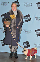 Brix Smith-Start and her pet dogs at the Skate at Somerset House with Fortnum &amp; Mason VIP launch party, Somerset House, The Strand, London, England, UK, on Wednesday 16 November 2016. <br /> CAP/CAN<br /> &copy;CAN/Capital Pictures /MediaPunch ***NORTH AND SOUTH AMERICAS ONLY***