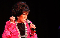 CLEVELAND - MAY 14:  Wanda Jackson performs during the Rock and Roll Hall of Fame 'It's Only Rock And Roll' benefit concert and Women Who Rock exhibit opening concert at the Cleveland Convention Center on Saturday May 14, 2011 in Cleveland, Ohio.  (Photo by Jared Wickerham/Jared Wickerham/Getty Images for Rock and Roll Hall of Fame and Museum)