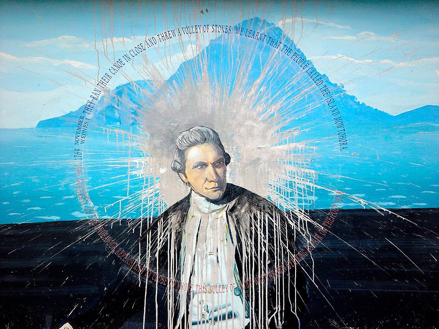 James Cook, Whakatane