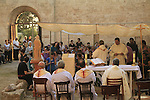 Feast of Joachim and Anne at the Crusader Church of St. Anne in Zippori