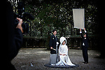Tokyo, March 2010 - Wedding at Meiji Jingu shrine.