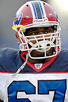 31 December 2006: Buffalo Bills center Melvin Fowler warms up prior to a game against the Baltimore Ravens at M&amp;T Bank Stadium in Baltimore, Maryland. The Ravens defeated the Bills 19-7. Mandatory Photo Credit: Ed Wolfstein Photo.<br />