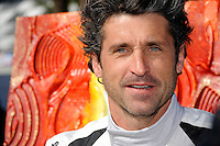 Actor/Race Driver Patrick Dempsey poses for a portrait at the Rolex 24.