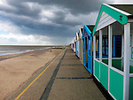 Colourful Bathing Huts, Southwold, Suffolk, UK