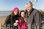 Una, Michaela and Michael Hayes, Tralee at Ballyheigue Races on New Years Day.