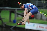 FIERLJEPPEN: IT HEIDENSKIP: 03-06-2013, 1e Klas wedstrijd, Senioren Topklasse, winnaar Bart Helmholt, ©foto Martin de Jong