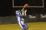 Water Valley's T.T. Person (3) makes a touchdown catch vs. South Pontotoc in Water Valley, Miss. on Friday, October 5, 2012. Water Valley won 47-20.