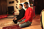 Gay married muslim couple, Paris suburbs