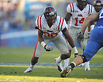 Ole Miss' Gerald Rivers (90) vs. Kentucky at Commonwealth Stadium in Lexington, Ky. on Saturday, November 5, 2011. Kentucky won 30-13...