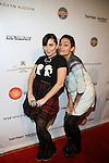 Designer Stacy Igel and Actress Rosario Dawson-Arrivals-Boy Meets Girl By Stacy Igel At New York Fashion Week Style360, NY   2/13/13