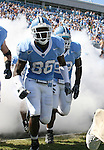 02 September 2006: UNC's Hakeem Nicks (88). The University of North Carolina Tarheels lost 21-16 to the Rutgers Scarlett Knights at Kenan Stadium in Chapel Hill, North Carolina in an NCAA Division I College Football game.