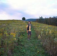 Greg Kuebler portrait in Ithaca, NY