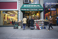 Westsider Rare and Used Books, an independent bookstore is seen in the Upper West Side neighborhood of New York on Saturday, January 12, 2013.  Few independent bookstores remain and the ones that are still in business tend to specialize in various subjects. (© Richard B. Levine)