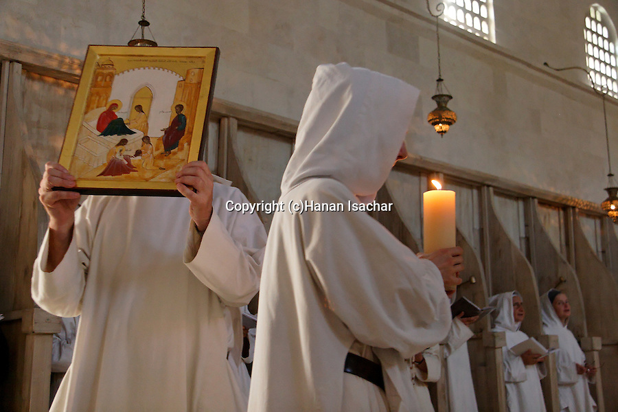 """""""La Fete de la Nativite de la Vierge""""holiday at the Monastery of the Sisters of Bethlehem of the Assumption of the Virgin and of Saint Bruno in Beth Gemal, Israel"""