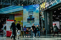 People attend the 2015 New York International Auto Show in New York City. 04.06.2015. Kena Betancur/VIEWpress.