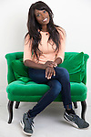 May0068121 . Daily Telegraph<br /> <br /> DT News<br /> <br /> Former model turned Chef Lorraine Pascale<br /> <br /> London 10 February 2016