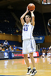 17 November 2012: Duke's Allison Vernerey (FRA). The Duke University Blue Devils played the Presbyterian College Blue Hose at Cameron Indoor Stadium in Durham, North Carolina in an NCAA Division I Women's Basketball game. Duke won the game 84-45.
