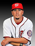 25 February 2011: Troy Gingrich, Spring Training Instructor for the Washington Nationals, poses for his portrait on Photo Day at Space Coast Stadium in Viera, Florida. Mandatory Credit: Ed Wolfstein Photo