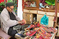 Ghadames, Libya - Shoemaker at Work