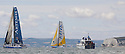 3rd August 2010 . Cowes. Isle of Wight. Artemis Challenge..Pictures of the Artemis Ocean Racing Team, Helmsman Simon Hiscocks (GBR)..Mandatory credit: Lloyd Images..Pictures of the Gaes Centros Auditivos Team, Skipper Dee Caffari (GBR)..Mandatory credit: Lloyd Images
