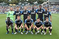 San Jose Earthquakes Starting Evelen.Chivas USA defeated the San Jose Earthquakes 2-1 at Buck Shaw Stadium in Santa Clara, California on April 23rd, 2011.