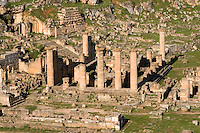 Cyrene, Shahat, Libya - Temple of Apollo.  2nd Century A.D. Roman Reconstruction of a Greek Doric-style Temple.