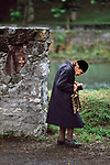 FRANCE-10049, Lourdes, France, 09/1989