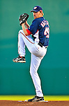 9 March 2009: Washington Nationals' pitcher Collin Balester on the mound during a Spring Training game against the Houston Astros at Space Coast Stadium in Viera, Florida. The Nationals defeated the Astros 8-6 in extra innings of the Grapefruit League matchup. Mandatory Photo Credit: Ed Wolfstein Photo