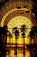 World Financial Center, Winter Garden, New York City, New York, glass atrium