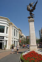 The Grove Shopping Center, Farmers Market, Mid Wilshire,  Los Angeles CA