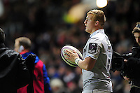 Jack Walker of Bath Rugby looks on. European Rugby Challenge Cup match, between Bristol Rugby and Bath Rugby on January 13, 2017 at Ashton Gate Stadium in Bristol, England. Photo by: Patrick Khachfe / Onside Images