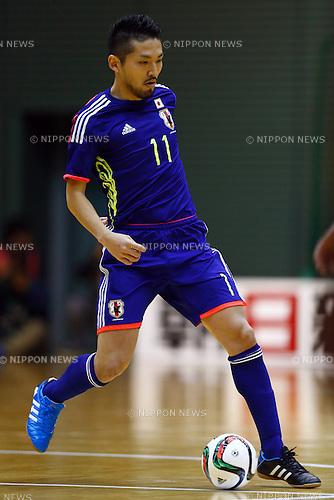 Shota Hoshi (JPN), DECEMBER 18, 2014 - Futsal : International Friendly Match between Japan 1-1 Croatia at Komazawa gymnasium, Tokyo, Japan. (Photo by AFLO SPORT) [1180]