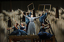 JANE EYRE, a co-production with the Bristol Old Vic, directed by Sally Cookson, opens at the National Theatre. Picture shows: Madeleine Worrall (Jane Eyre) and the company.