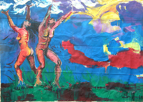 Obra de Ángel Haché y Elsa Núñez