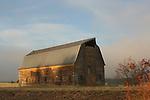 Old Barn in Coeur D Alene Idaho behind Fred Meyer, slated for demolition