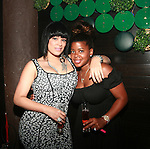 Love and Hip Hop's Emily B. and Chrissy Lampkin Attend New York Knicks' Carmelo Anthony's Birthday Celebration at Greenhouse, NY  5/26/11