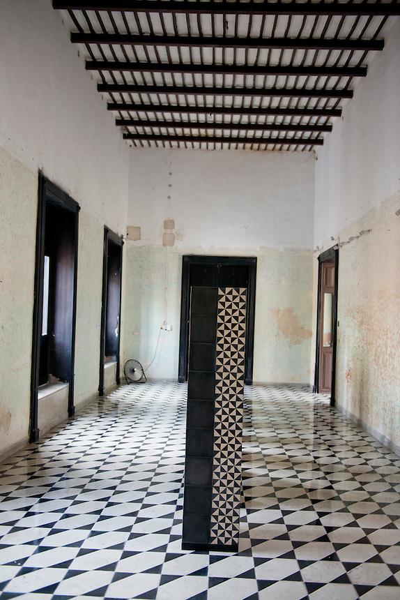 Instalations by Renaus Charrin. Fundacion de Artistas (Coqui Coqui). Merida, Yucatan, Mexico