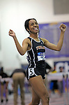 10 MAR 2012:   Raven Clay of Findlay won the title in the 60 meter hurdles in a time of 8.18 seconds during the Division II Men's and Women's Indoor Track and Field Championship held at Myers Fieldhouse on the campus of Minnesota State University, Mankato, in Mankato, MN.  Brian Fowler/NCAA Photos