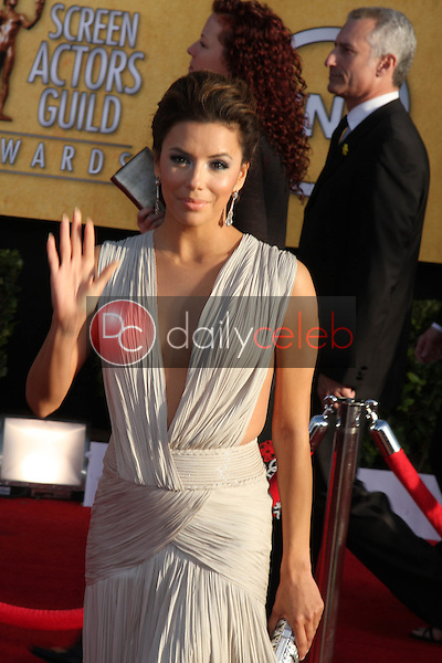 LOS ANGELES - JAN 30:  Eva Longoria arrives at the 2011 Screen Actors Guild Awards  at Shrine Auditorium on January 30, 2011 in Los Angeles, CA