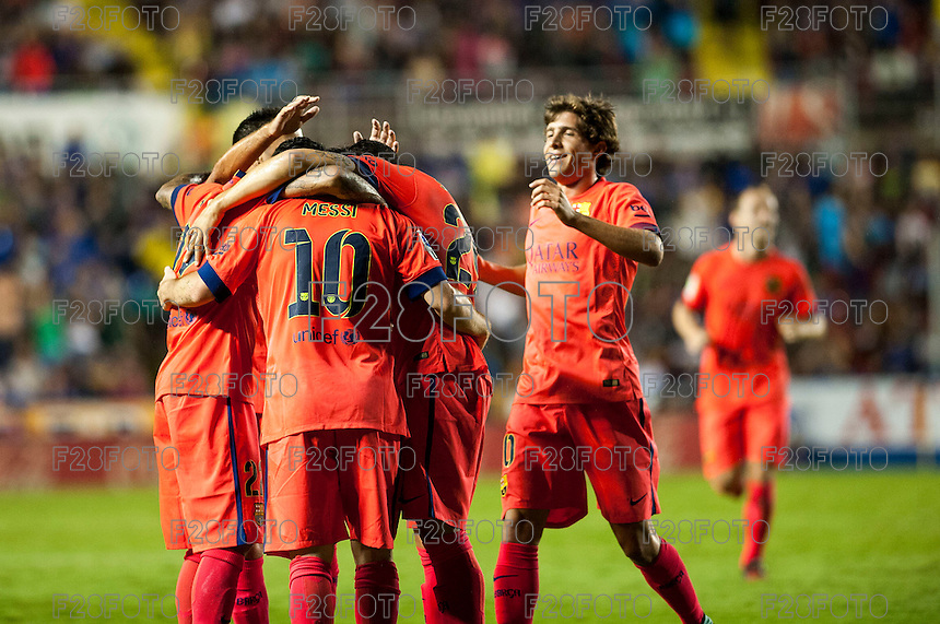 Levante 0-5 Barcelona (21-9-2014)