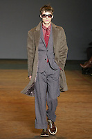 Robbie walks runway in an outfit from the Marc by Marc Jacobs Fall/Winter 2011 collection, during New York Fashion Week, Fall 2011.