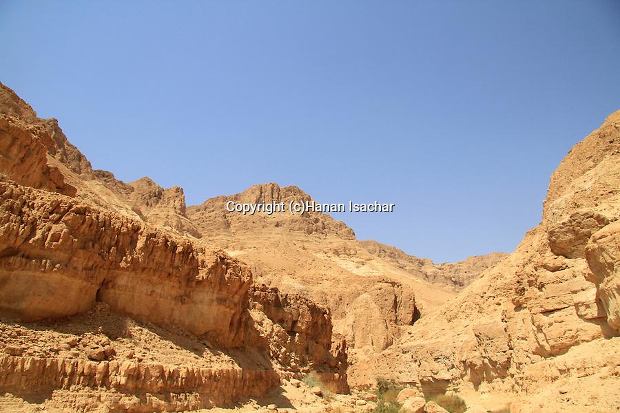Israel, Wadi Mishmar in the Judean desert