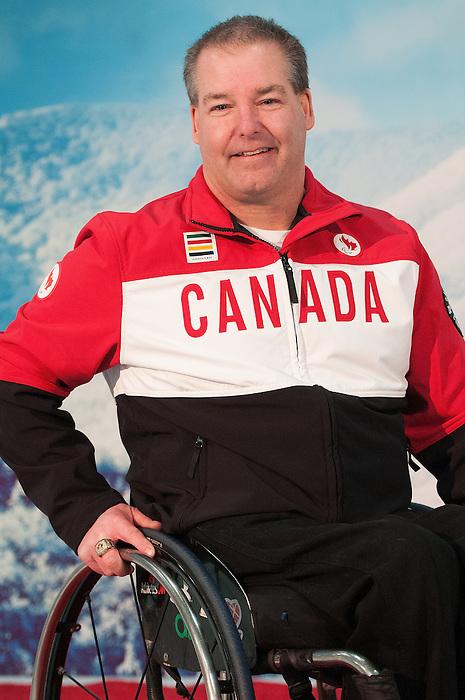 Ottawa, ON - January 24 2017 - Todd Nicholson is announced as the Team Canada Chef de Mission for the 2018 Paralympic Winter Games in Pyeongchang, South Korea at the Jim Durrell Recreation Complex in Ottawa, Ontario, Canada (Photo: Matthew Murnaghan/Canadian Paralympic Committee)
